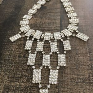 Jewelry - Dramatic Rhinestone Necklace