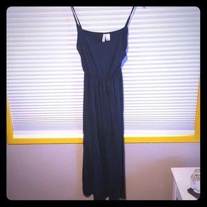 Dark Blue Maxi H&M Spagetti Strap Dress
