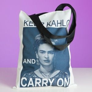 Handbags - Frida Kahlo inspired tote bag