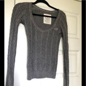 Women's grey Hollister Sweater