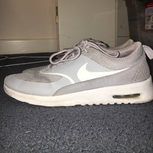 Nike Thea Grey Lifestyle Sneaker
