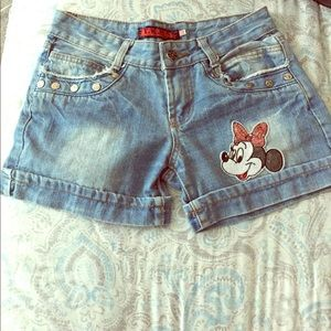 Pants - Minnie Mouse shorts !