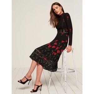 Reformation Natalia Dress: Size 0