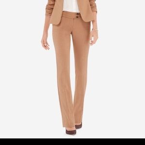 The limited cassidy fit camel tan pant size 4