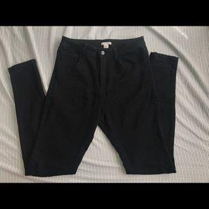Black Jegging Style Jeans