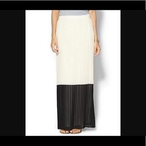 Pleated Maxi Skirt XS NWT