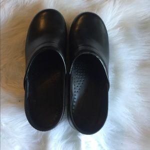 Dansko Black Clogs. Size 37