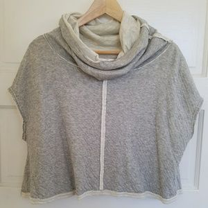 Free People Movement Cowl Neck Box Top