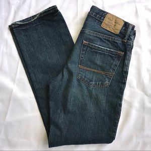 Abercrombie & Fitch slim straight button fly