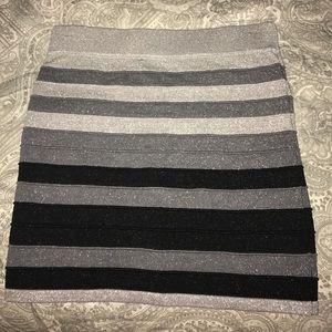 Sparkly striped skirt Forever 21