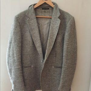 Other - Beautiful 100% wool men's grey blazer FRANCE