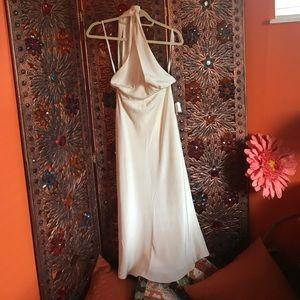 Cream wedding/special occasion halter /JCrew P0