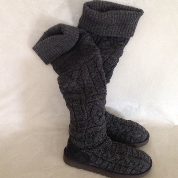 f6243c59a34 SALE🎃UGG Over The Knee Cable Knit Boots