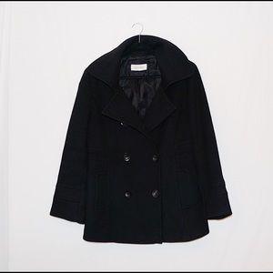🍒Calvin Klein 100% Wool Women's Peacoat Size 10🍒