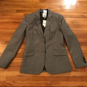Grey blazer. Never been worn!