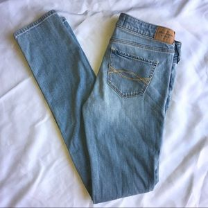 Abercrombie & Fitch A&F super skinny jeans size 28