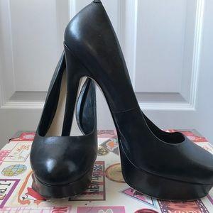 ALDO Women's Sz 8 Black Platform Pumps Heels