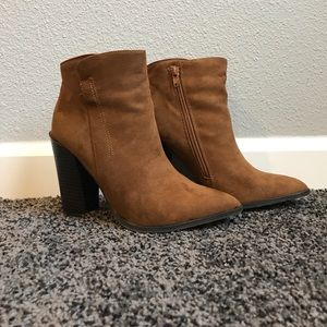 Brown Booties for Fall 🍂