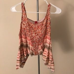 Free People Patterned Tank Top