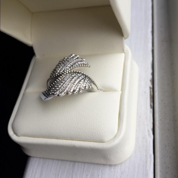 4628c8b31 Pandora Jewelry | Angel Wing Ring | Poshmark
