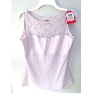 💜 NWT SPANX Hide & Sleek Lace Bateau Camisole💜