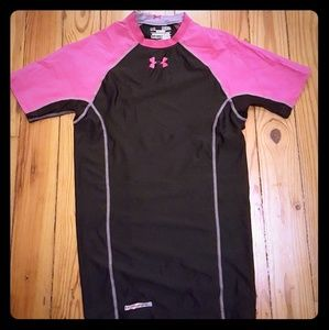 Under Armour dry fit heat gear shirt