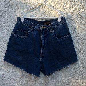 Vintage High-Waisted Med Wash Eddie Bauer Shorts