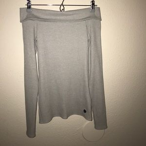 BNWT A&F off the shoulder sweater