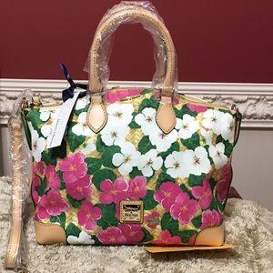 Dooney & Bourke pansy satchel