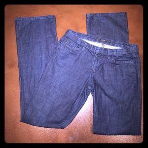 """Joe's """"Socialite"""" Jeans in Dark Wash Boot Cut"""