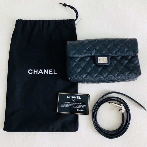 88e6beb03828 CHANEL Handbags - Authentic CHANEL Caviar Waist-Belt Uniform Bag