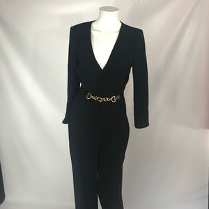 Zara NWT jumpsuit size m belt not included