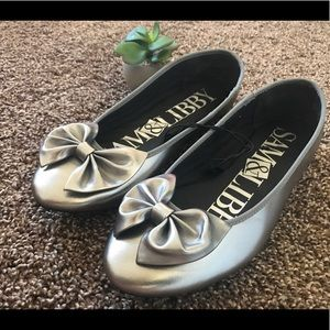 Sam & Libby ballet flats genuine leather size 8