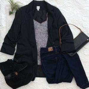 XS Express Grey Sequin Cami
