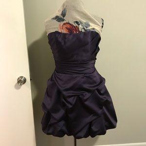 David's Bridal Strapless Dress, size 12.