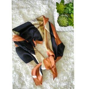 🍂FOR FALL. Italian silk scarf