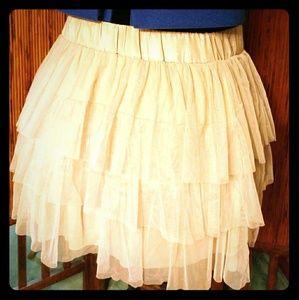 XXL Light Pink Tutu Mini Skirt