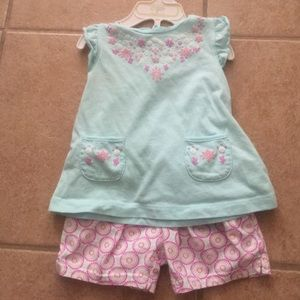 NWOT Carter's two piece outfit set