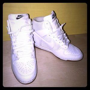 ✨WMNS Nike Dunk Sky Hi Essential White/Gum 💫
