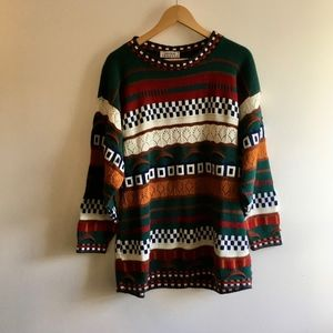 Funky Oversized Vintage Sweater