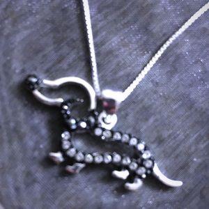 Cute puppy necklace