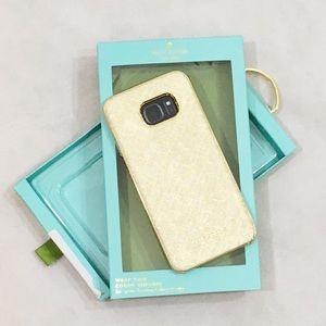 Kate Spade Samsung Galaxy S7 Edge Phone Case NEW