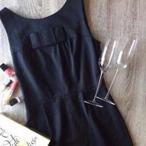 NWOT Kate Spade Black Bow Sheath Dress