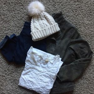 Anthro Beanie with Pom