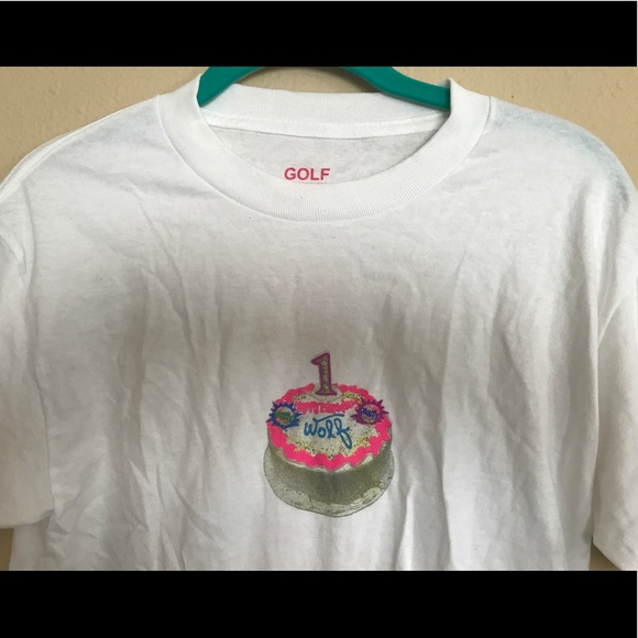 1ee28425e7c2 Golf Wang Other - RARE Tyler The Creator  Wolf  1st Birthday T-Shirt