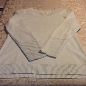 Cynthia Rowley 100% 2 ply cashmere sweater