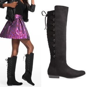 Just Fab Gisane Knee High Boot