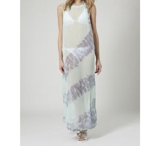 TopShop Sheer Maxi Bathing Suit Cover Up