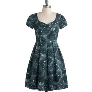 Modcloth Bea & Dot Universal Star Stunner Dress