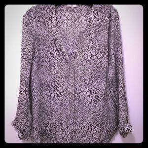 Joie animal print blouse, fantastic condition!